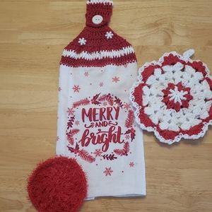 Lee's Crochet Kitchen Set